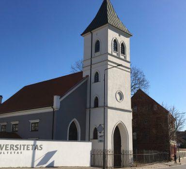 Kultūros paveldo objekto tvarkyba Liuteronų bažnyčia