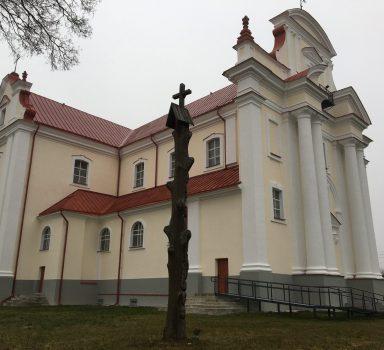 Kultūros paveldo objekto tvarkyba Troškūnų bažnyčia