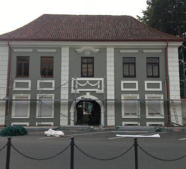 Kultūros paveldo objekto tvarkyba Jonavos g. 6